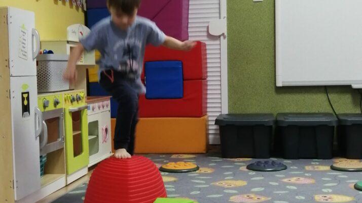 Gimnastyka u Reniferów