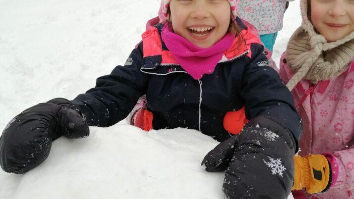 Zimowe zabawy Górskich Orłów