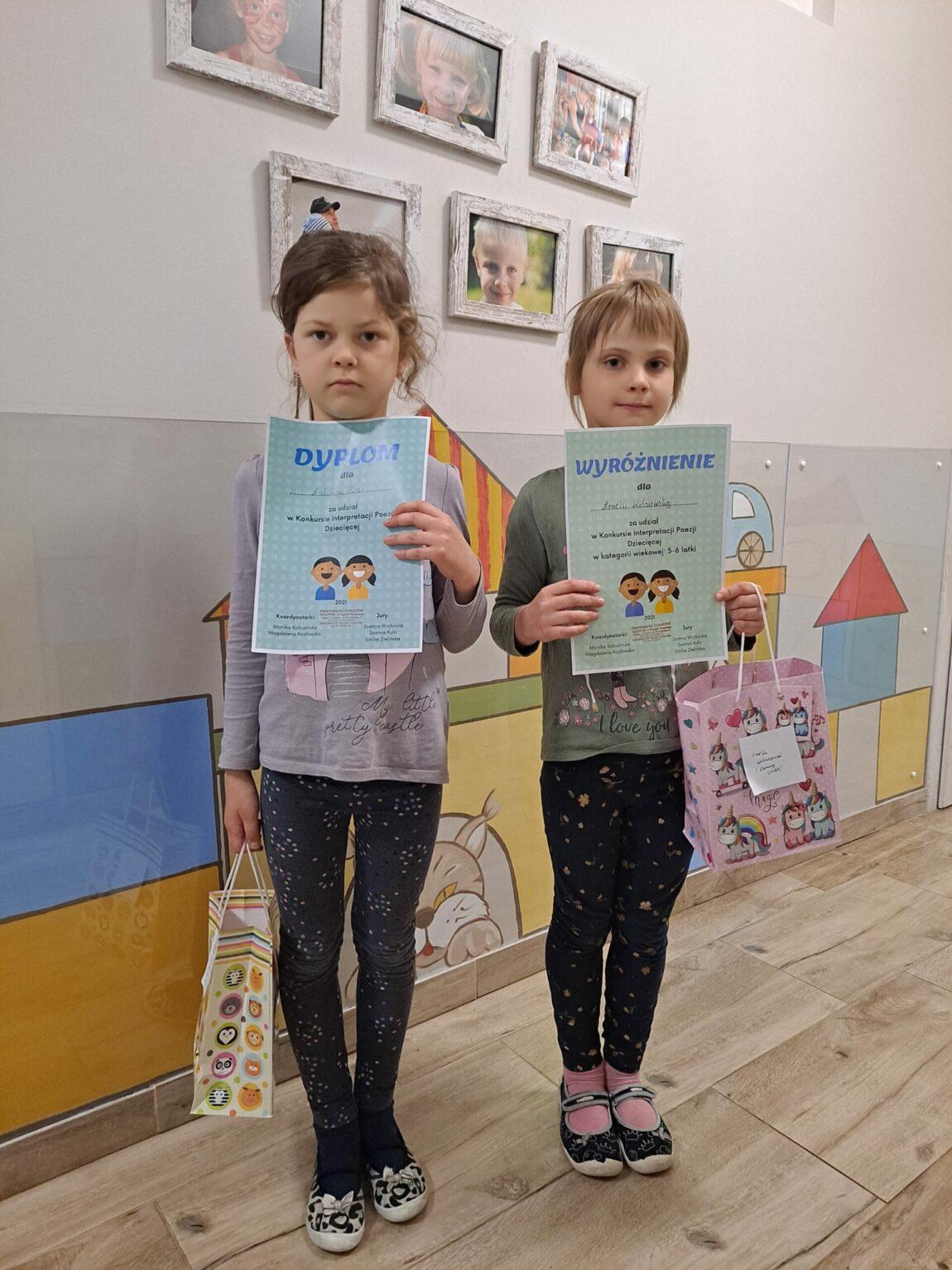 Wyniki Konkursu Interpretacji Poezji Dziecięcej
