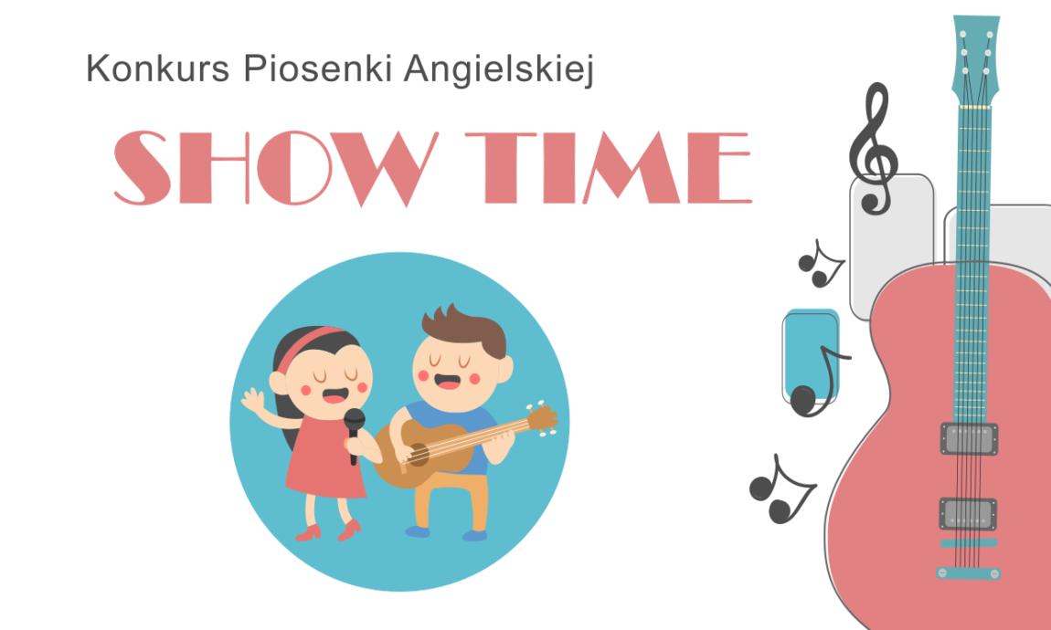 """Ogłoszenie wyników Konkursu Piosenki Angielskiej """"SHOW TIME!"""""""