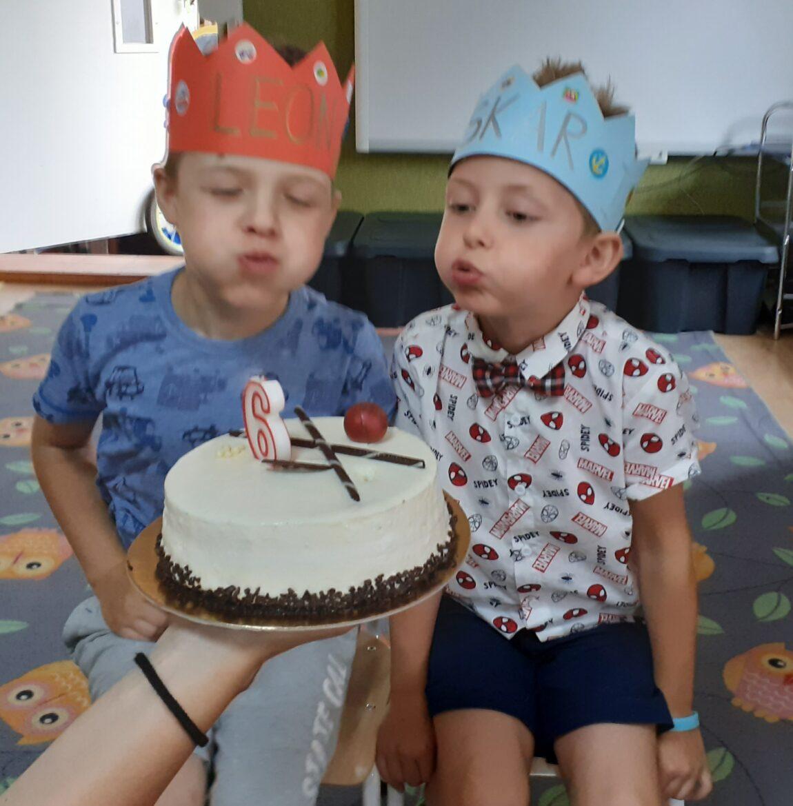Urodzinki w grupie Wesołe Renifery